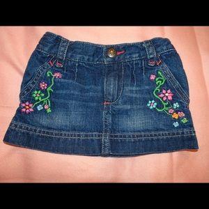 Toddlers Denim Skirt